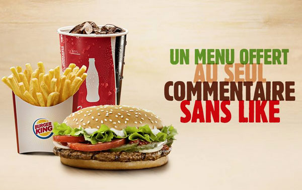 Buzz Marketing : Burger King, le Roi du Buzz sur les réseaux sociaux ?