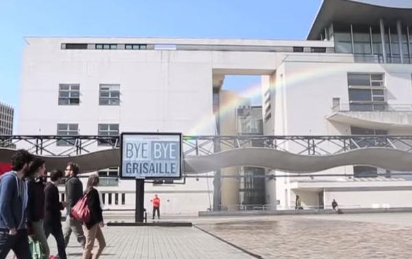 Byebye Grisaille Monoprix Arc-en-ciel