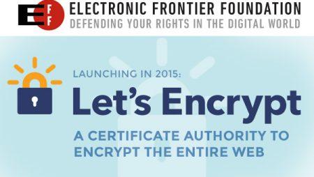 EFF Let's Encrypt : les certificats SSL gratuits en 2015 ?