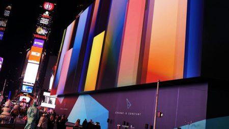 Times Square : le plus grand écran HD du monde dévoilé à New York !