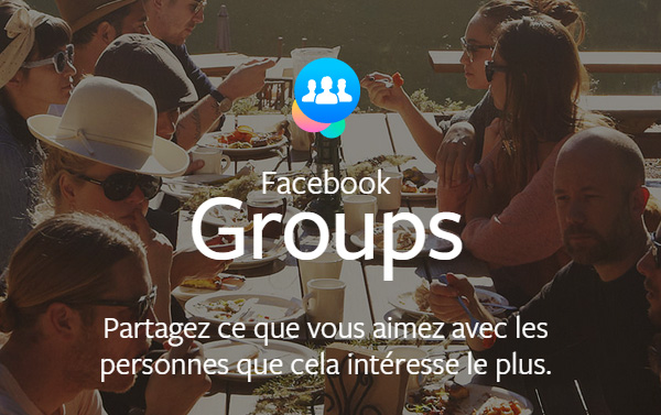 Facebook Groups Application