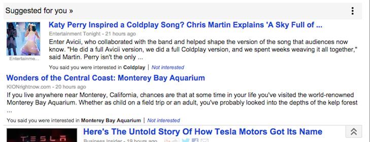 Google Actualités Suggéré Pour Vous