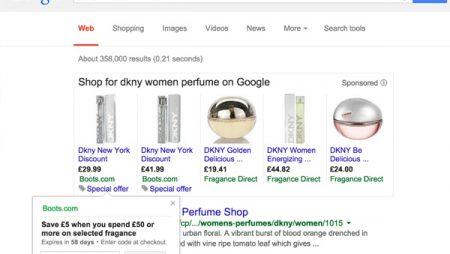 Google Adwords : les codes promos désormais intégrés aux annonces !