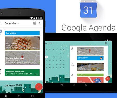Google Agenda revient dans une nouvelle application Android !