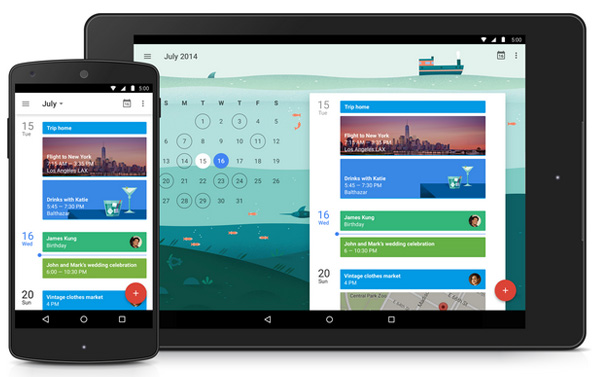 Google Agenda Android