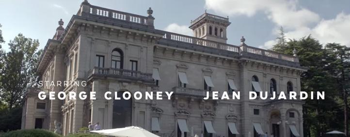 Jean Dujardin George Clooney Nespresso