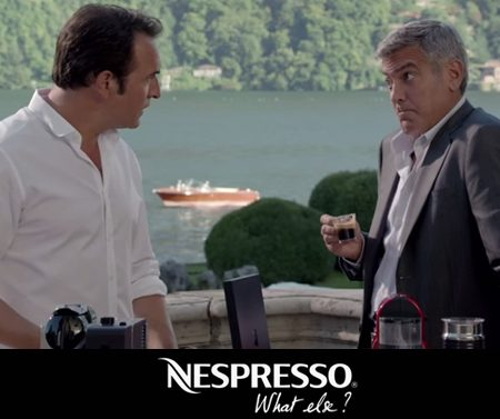Pub Nespresso : George Clooney VS Jean Dujardin, le Duel «How Far» !