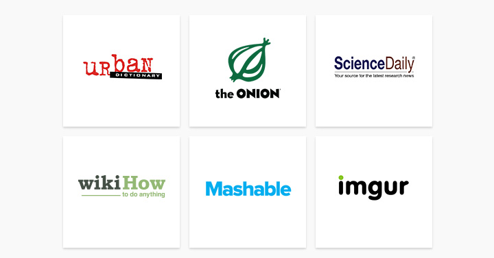 Sites US partenaires Google Contributor