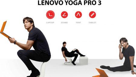 Lenovo Yoga 3 Pro : le nouvel ultrabook Lenovo !