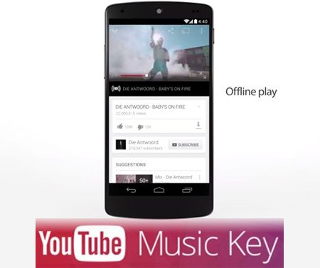 Youtube Music Key : le streaming musical de Google dévoilé !