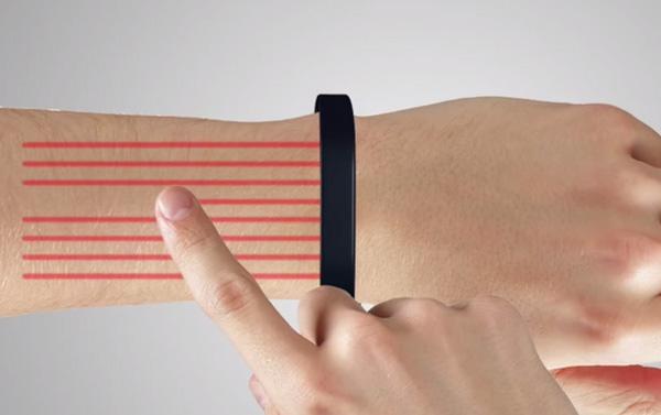 Bracelet Cicret Fonctionnement Tactile