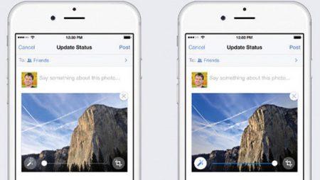 Facebook : amélioration automatique des photos et détecteur d'ivresse !