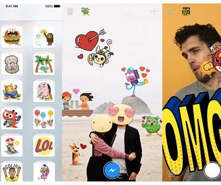 Facebook Stickered : l'application dédiée aux stickers pour Messenger !