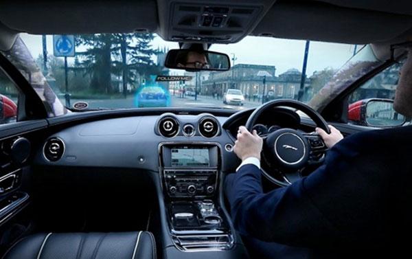 Voiture fantome Jaguar Land-Rover