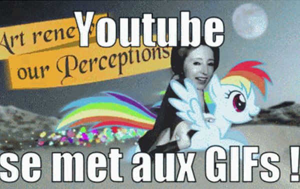 YouTube Création Gif