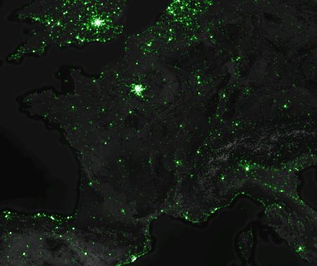 Cartographie : où Tweetons-nous le plus en France et dans le monde ?