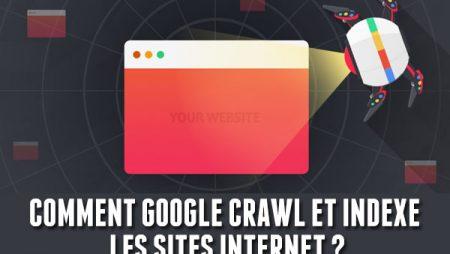 Infographie : crawl et indexation de site internet sur Google