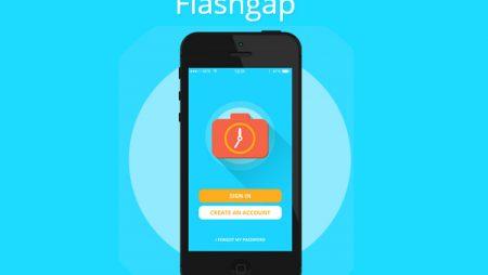 Flashgap : l'application pour créer des albums photo à retardement !