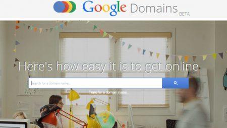 Google Domains : Google lance son propre service de registrar !