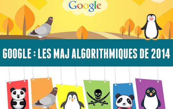 Mises à jour algorithmes google 2014