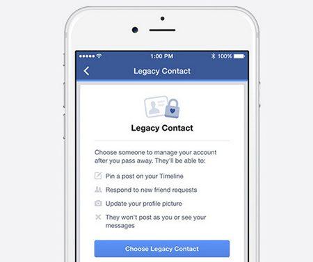 Facebook : à qui léguerez-vous votre compte après votre mort ?
