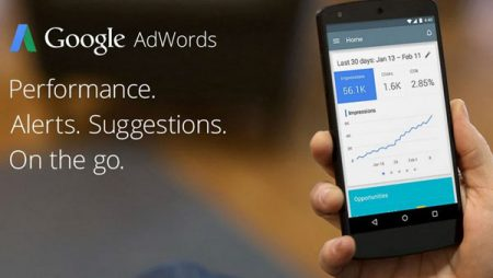 Google Adwords lance son application mobile Android !