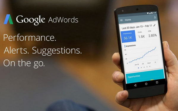 Google Adwords Application Android