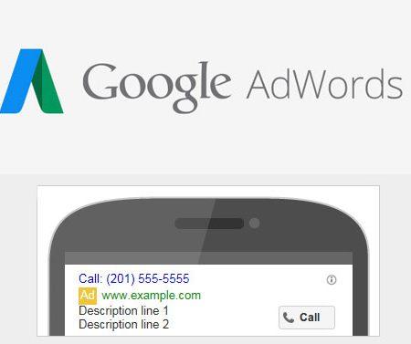 Call-Only : Google Adwords lance un nouveau type de publicité mobile !