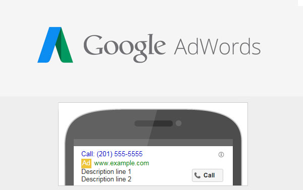 Google Adwords Call Only Add