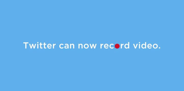 Twitter enregistrement vidéo