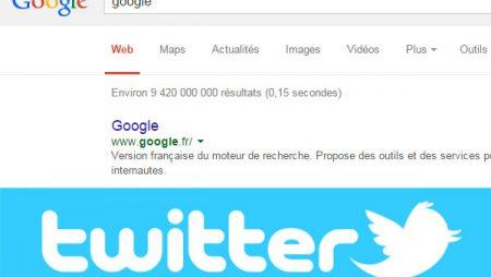 Twitter passe un accord avec Google pour booster sa visibilité !