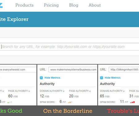 Moz Spam Score : un nouvel outil pour mesurer le risque de pénalisation d'un site !