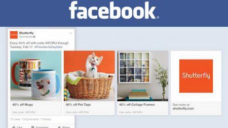 Facebook Carrousel Ads : la promotion de plusieurs produits désormais possible !