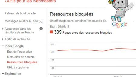 «Ressources bloquées» : Google Webmaster Tools dévoile un nouvel outil !