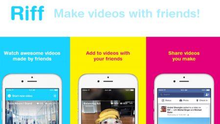 Facebook Riff : la nouvelle application pour créer des vidéos entre amis ?