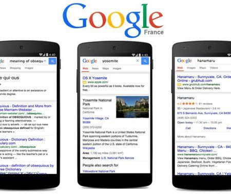 Google Mobile lance une version allégée de son moteur pour les connexions lentes !