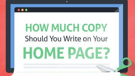 Infographie : comment optimiser une Home pour la conversion ?
