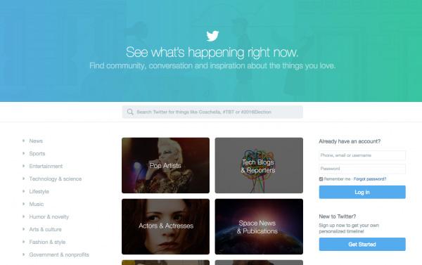 Le design de la page d'accueil de Twitter va radicalement changer !