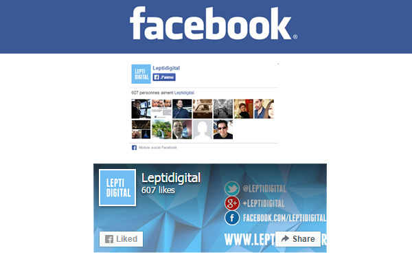 Facebook nouvelle likebox