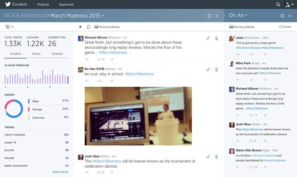 Twitter Curator Screen
