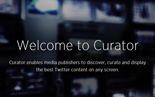 Twitter lance Curator !