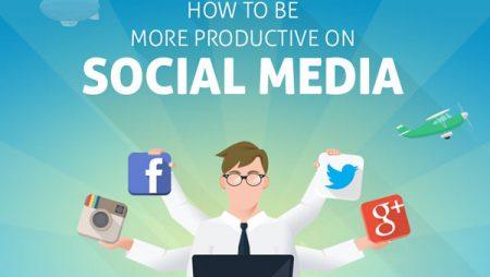 Infographie : comment être plus productif sur les réseaux sociaux ?