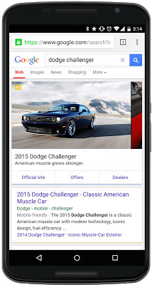Google Adwords voiture Pub