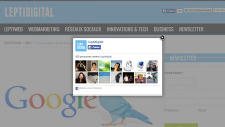 Google pourrait prochainement pénaliser les sites avec interstitiels !