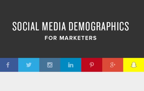 Profil démographique réseaux sociaux