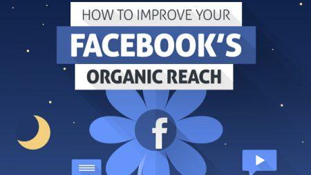 Comment améliorer son reach organique sur Facebook ? (Infographie)