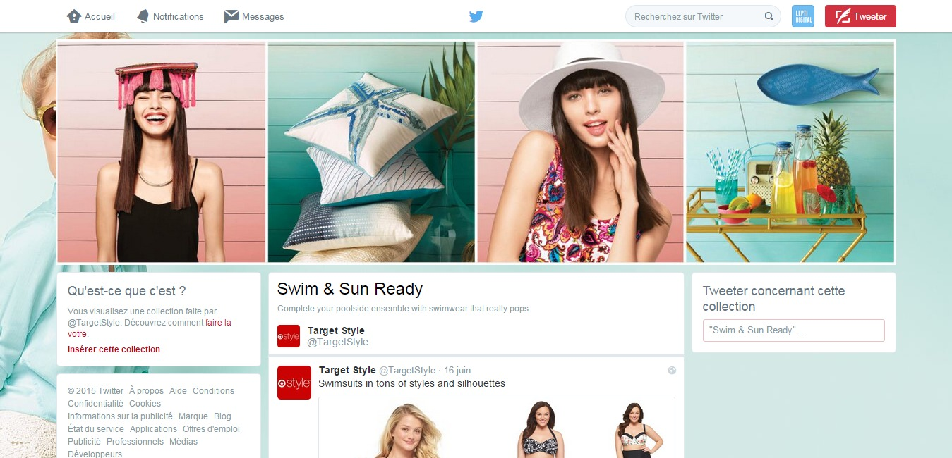 Twitter collection Target Style