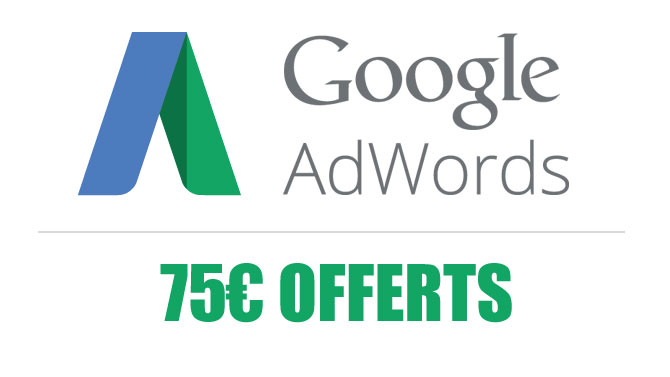 Coupon Adwords 75 euros