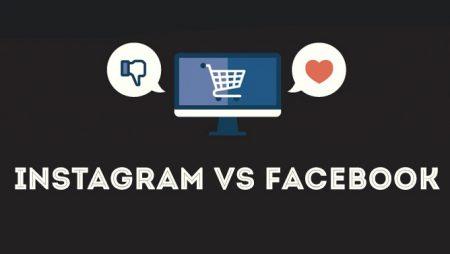 Instagram VS Facebook : ce que disent les chiffres ! (Infographie)