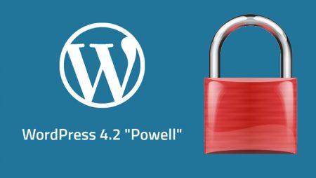 WordPress 4.2.4 : une nouvelle mise à jour de sécurité importante !
